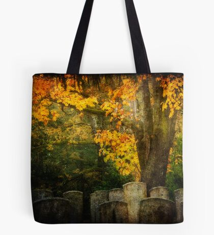 Autumn in the Cemetery Tote Bag