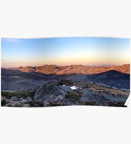 Towards Mt Feathertop Poster