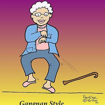 Gangnam Style Cartoon by paulinegsmj