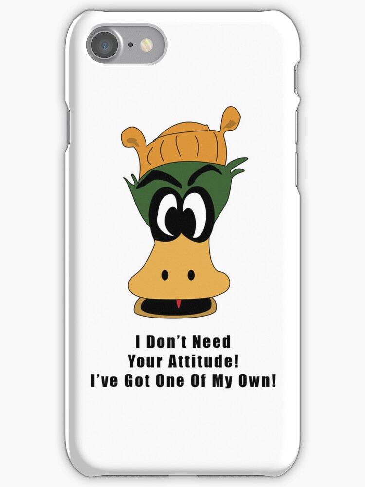 Crazy Duck Attitude by Scott Ruhs