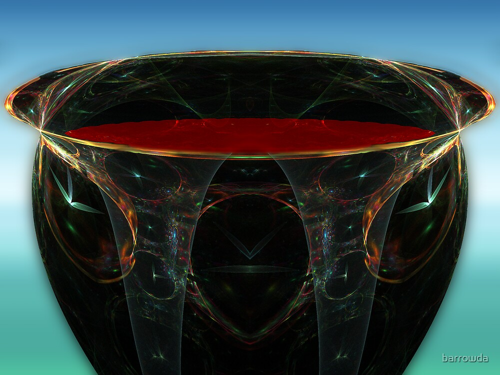 BC3DFlowers #7: The Chalice of My Blood (G0942) by barrowda