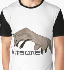 Red Fox Ink & Brush Graphic T-Shirt