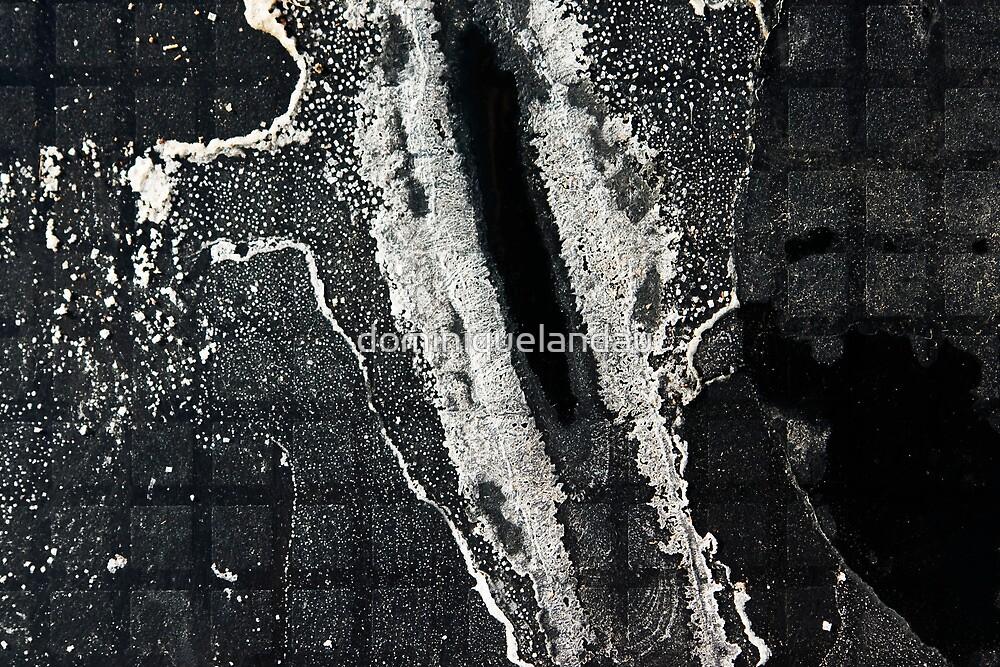 Salt sediment II by dominiquelandau