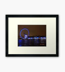 THE GREAT LONDON EYE Framed Print