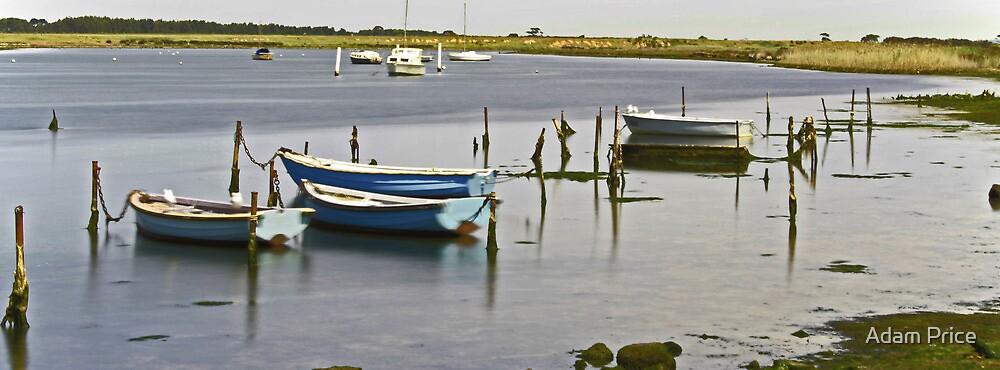 Werribee Boats  by Adam Price