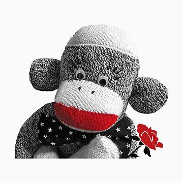 Bowty the Sock Monkey by Kazumi