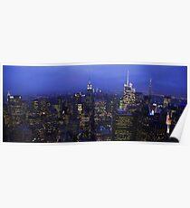 Lights of Manhattan Poster