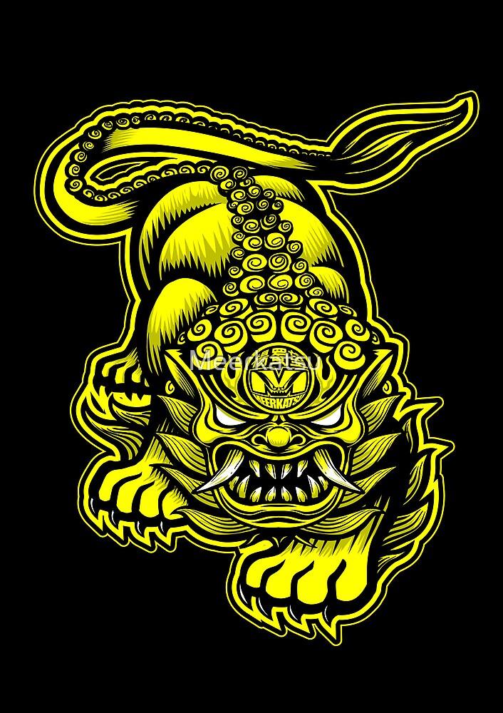 Chinese Lion 1 by Meerkatsu