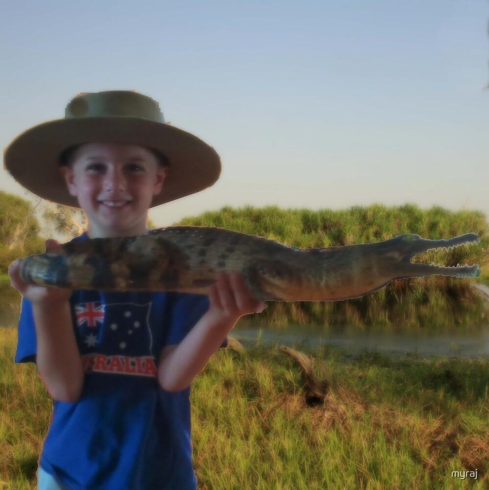 The Crocodile Boy by myraj
