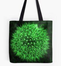 Dandelion Green Tote Bag