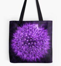 Dandelion Lavender Tote Bag