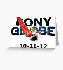 Pony Globe '12 Greeting Card