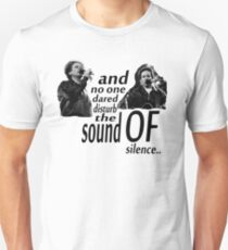 Simon & Garfunkel-The Sound Of Silence Unisex T-Shirt