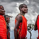 Masai People by Gavin Poh