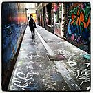 Melbourne Laneway by sparrowhawk