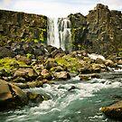 Öxarárfoss - Iceland by YorkStCreative