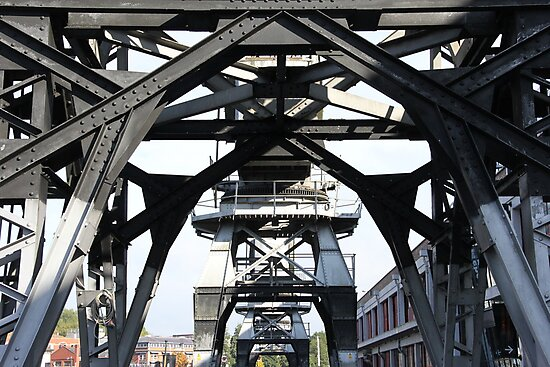 Engineering Works on Bristol Docks by AW-Photography