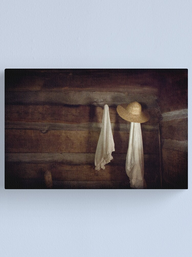 Alternate view of In Light of What She Left Behind Canvas Print