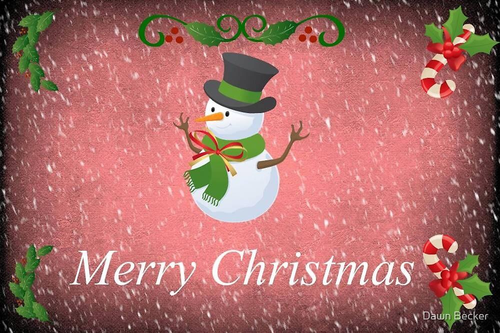 Merry Christmas © by Dawn Becker