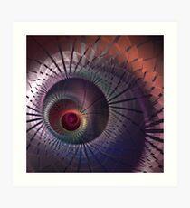 Diffusion Art Print