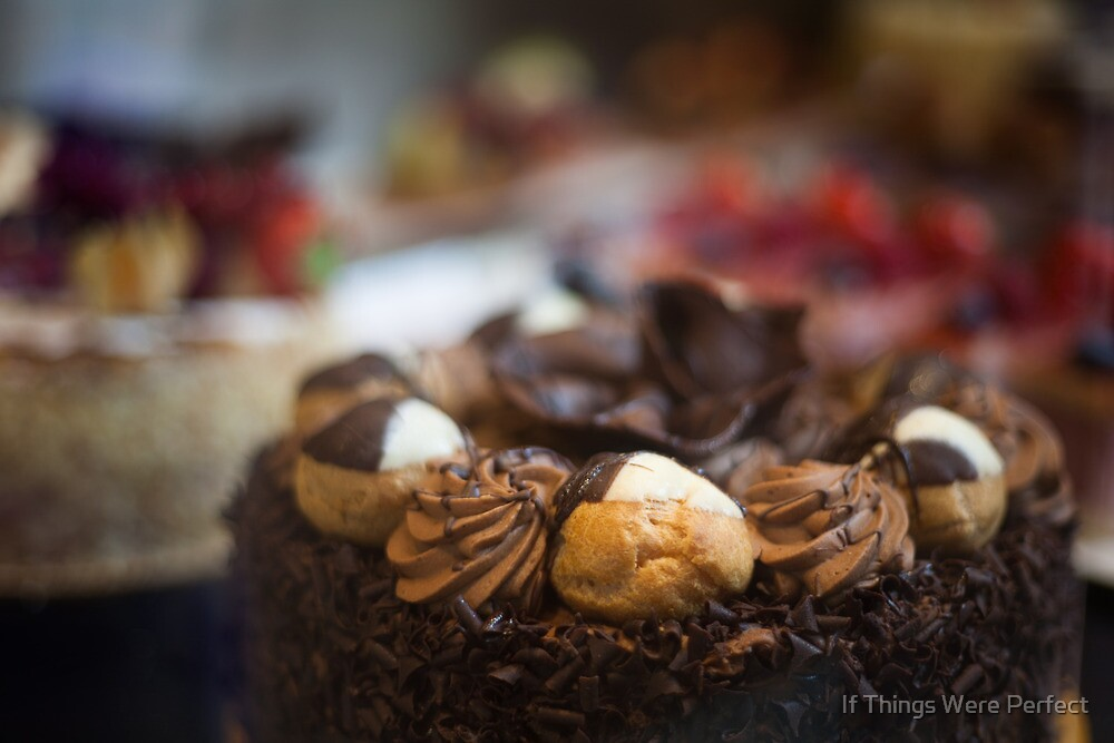Chocolate Cake by Mara Acoma