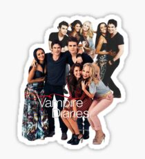 TVD Cast Sticker