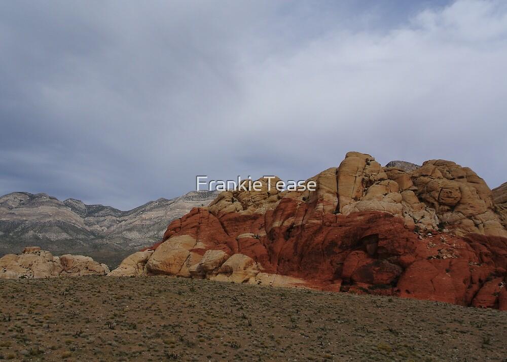 Cloudy Red Rock by FrankieTease