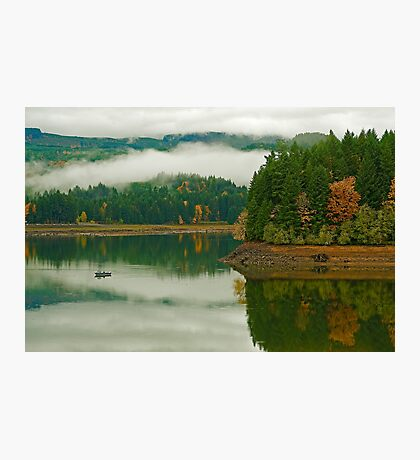 Autumn At Foster Photographic Print