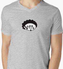 Normal Dude - Basic / Outline Men's V-Neck T-Shirt