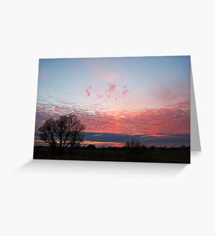 Pastel Twilight Greeting Card