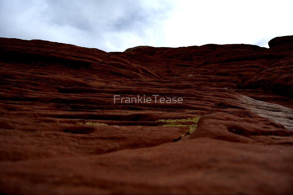 Red Rock Ripples by FrankieTease