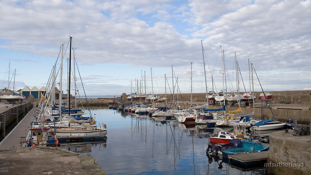 Lossiemouth West Beach Marina by mfsutherland