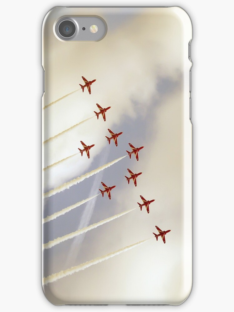 Red Arrows by Paul Madden
