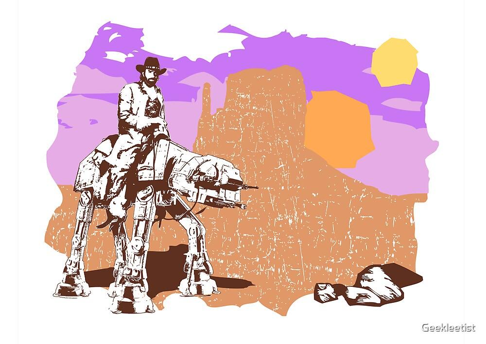 'Walker' Texas Ranger by Geekleetist
