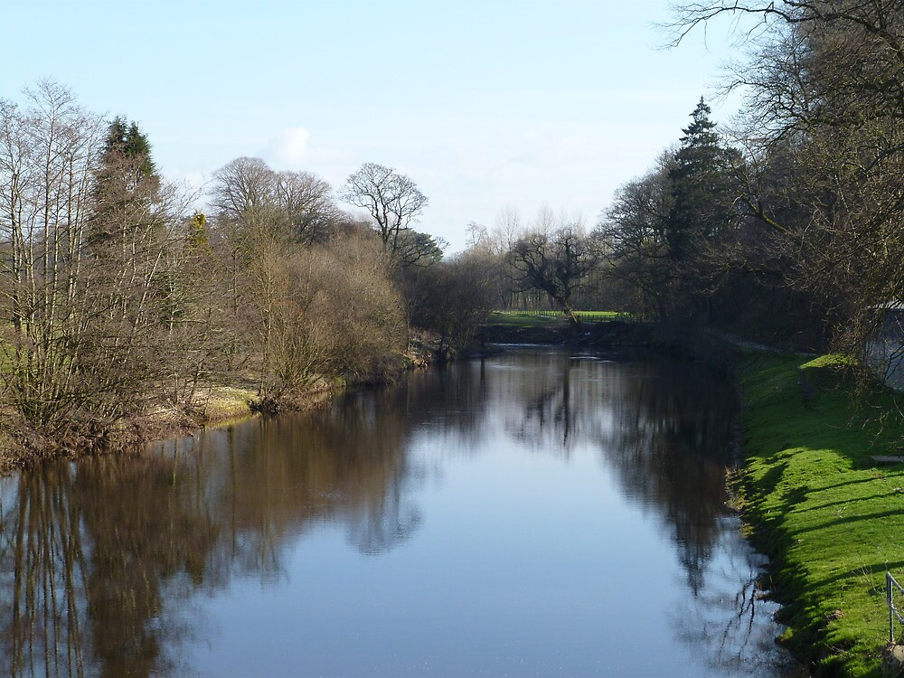 River Wenning at Hornby by Paul Swift