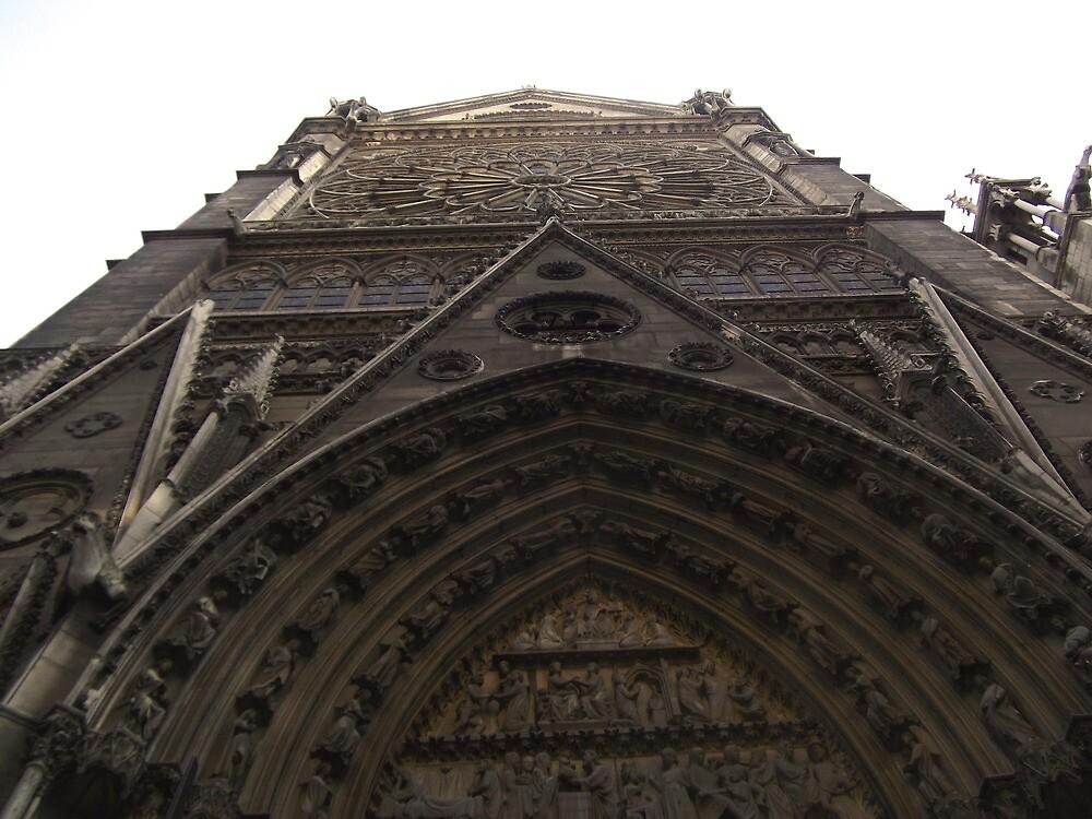 Notre Dame de Paris by stelhope
