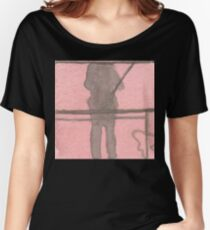 shadow selfie Women's Relaxed Fit T-Shirt