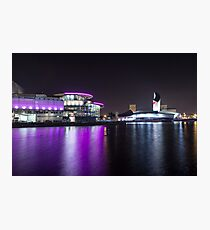 Media City Manchester And Lowrie Centre 2 Photographic Print