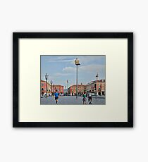 Massena Square in Nice, France Framed Print
