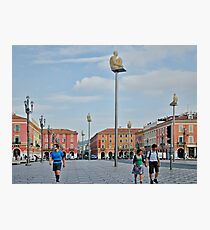 Massena Square in Nice, France Photographic Print
