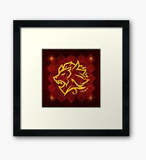 House Lannister - Game of Thrones Framed Print