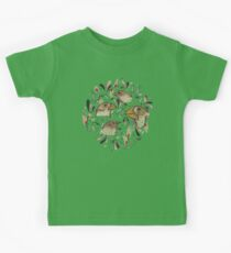 FINE FINCHES Kids Tee