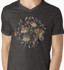 FINE FINCHES Men's V-Neck T-Shirt