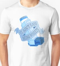 It ain't easy being wheezy- Blue T-Shirt
