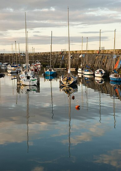 Harbour reflections No3 by StephenRB