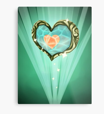 Heart Container Metal Print