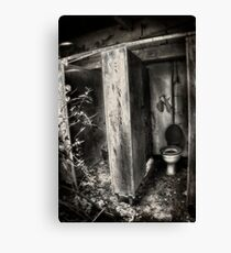 The poor mans throne Canvas Print
