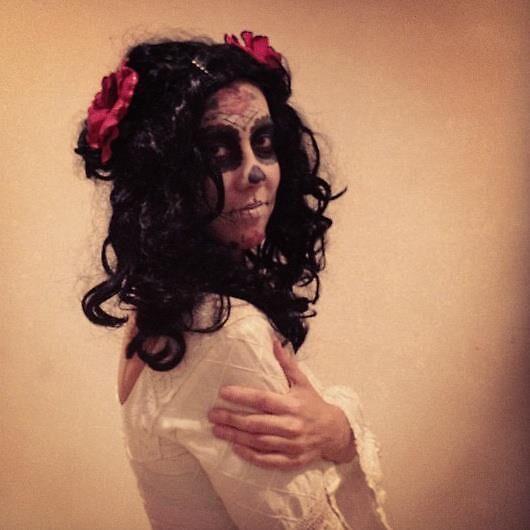 Dia de Los Muertos - Sugar Skull by HeidiA
