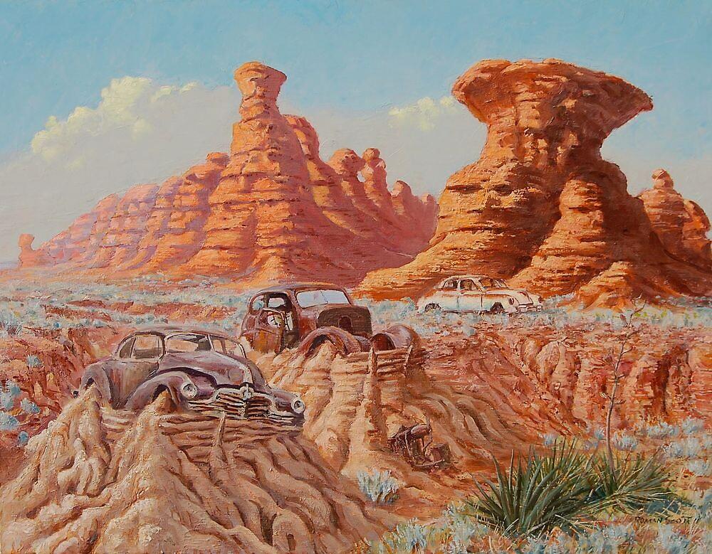 Fossil Land by Roman Scott