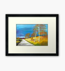 Autumn near Loch Muick Framed Print